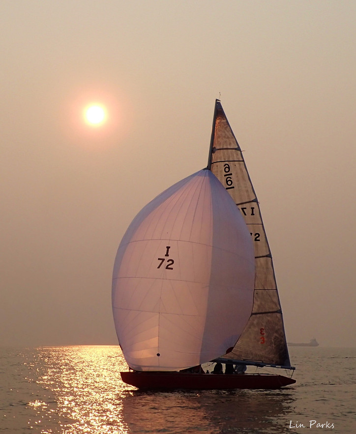 Photo of the Day: Setting summer sun shines on a Six