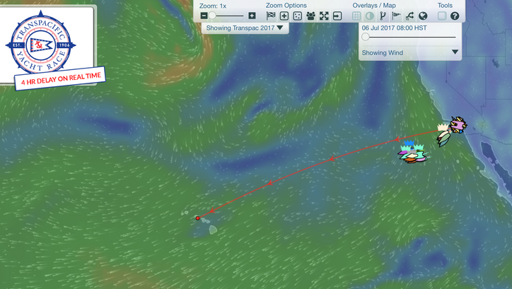 Transpac: Final of three starts off Pt Fermin this afternoon – Robbie Haines not on PYEWACKET's