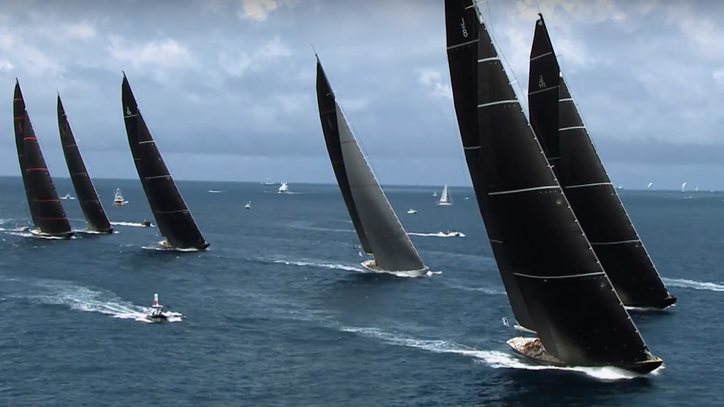 Photo of the Day: J-Class yachts during yesterday's AC Superyacht Regatta