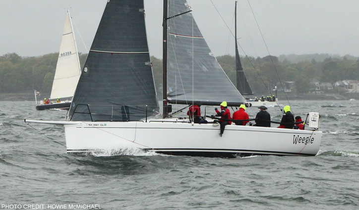 Larchmont YC: Breeze on for yesterday's Edlu Race