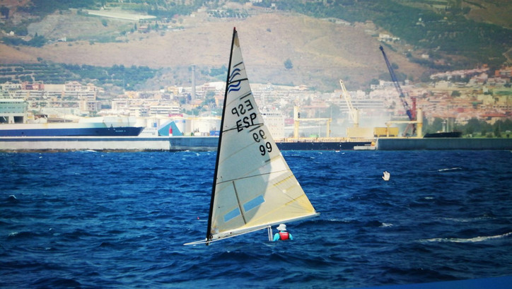 Photo of the Day: The fun, challenging, non-foiling Finn