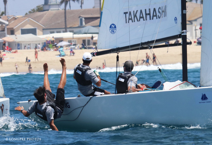 GovCup: Photo of the week – classic match racing tactics, great young sailors, good sports