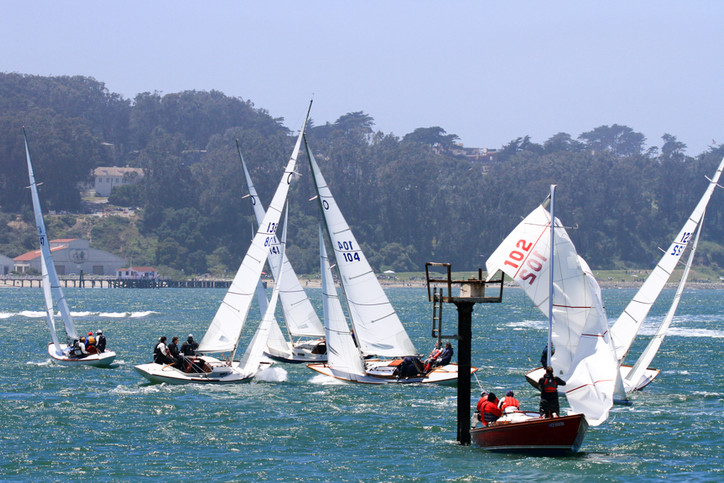 Woodies Invitational: Gnarly day for an esteemed StFYC Staff Commodore racing his Knarr on SF Bay; C