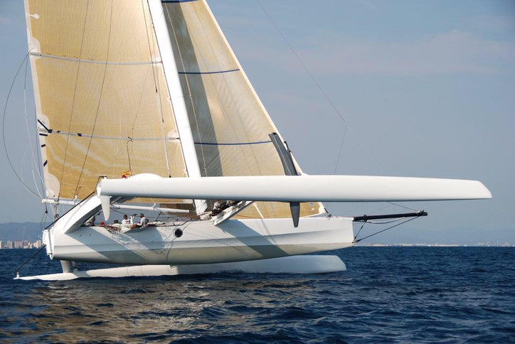 For sale: TRITIUM 72' trimaran, fully wicked up and ready to rumble