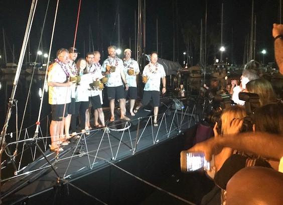 Transpac: Chris Hemans' VARUNA looks like Div 3 winner, and 3rd overall in ORR