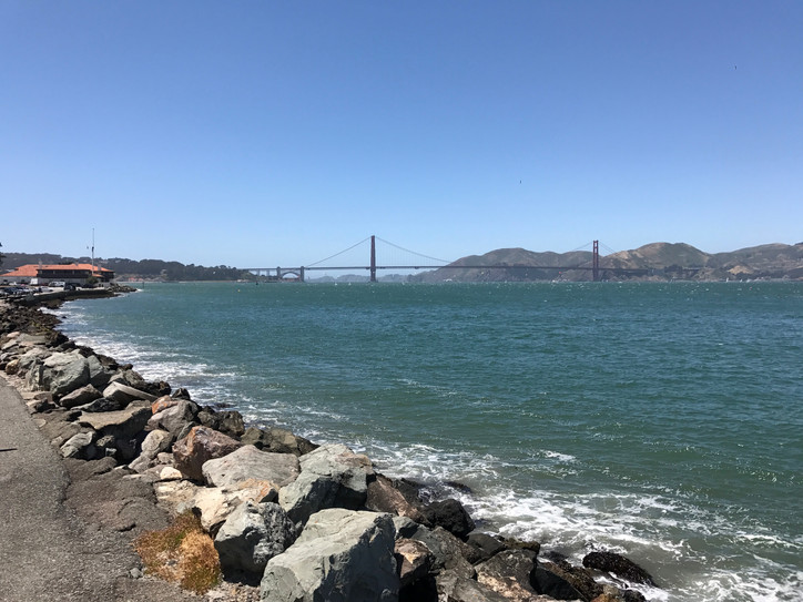 Another nice day on the Bay, a beaut breeze, and excellent brunch at GGYC