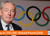 TFE LIVE: Today, Richard Pound (CAN), longest serving member of the IOC, with his views on the postp