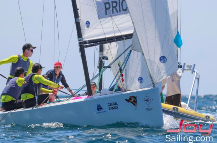 GovCup: Australian skipper Harry Price continues to lead; live TV coverage of the racing begins toda