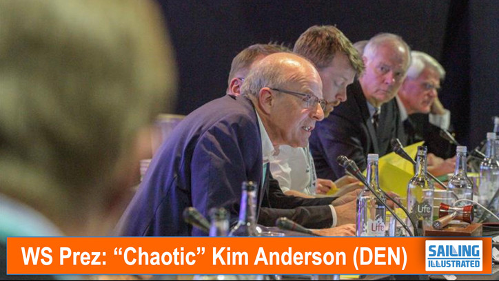 "WS: Beleaguered and befuddled President Kim Andersen (DEN) moves to ""extend his reign"""