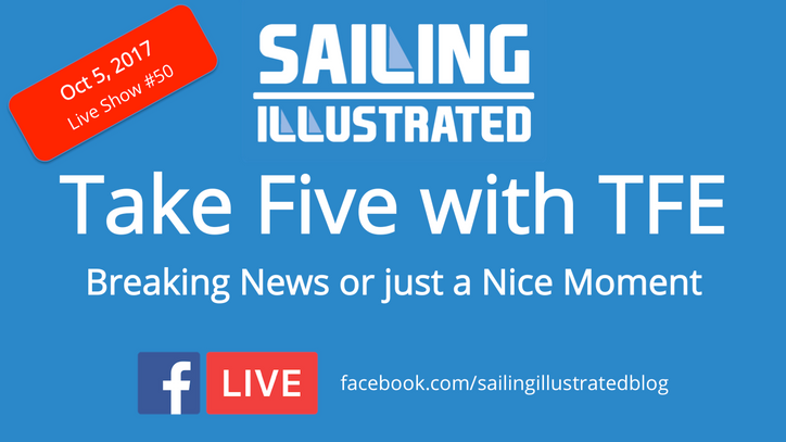 Take Five with TFE: New York Yacht Club have launched their AC36 Challenge – Facebook Live report co
