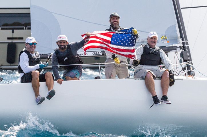 J/70 Worlds: Congrats to American YC's Peter Duncan; tops the huge 163-boat fleet at YCCS in Sar
