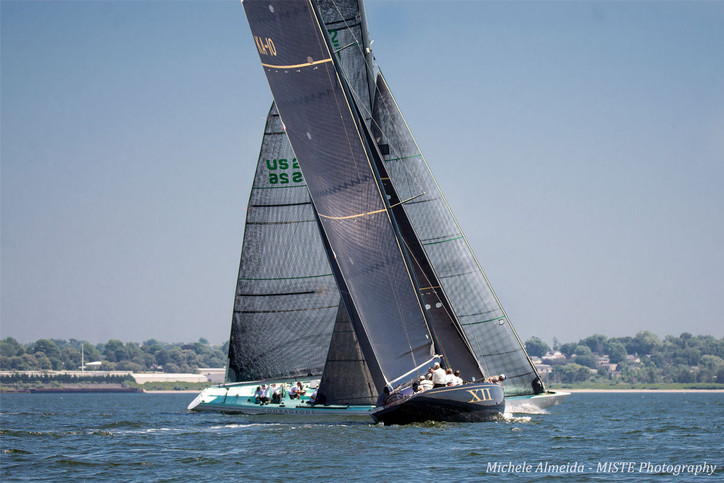 12 Metres: Eye candy by Michele Almeida from the Newport Trophy Regatta on Friday