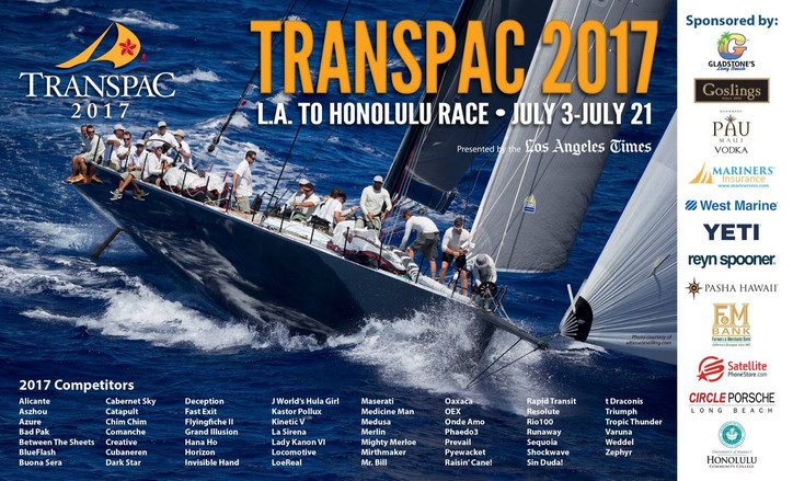 Transpac: First of three starts on Monday
