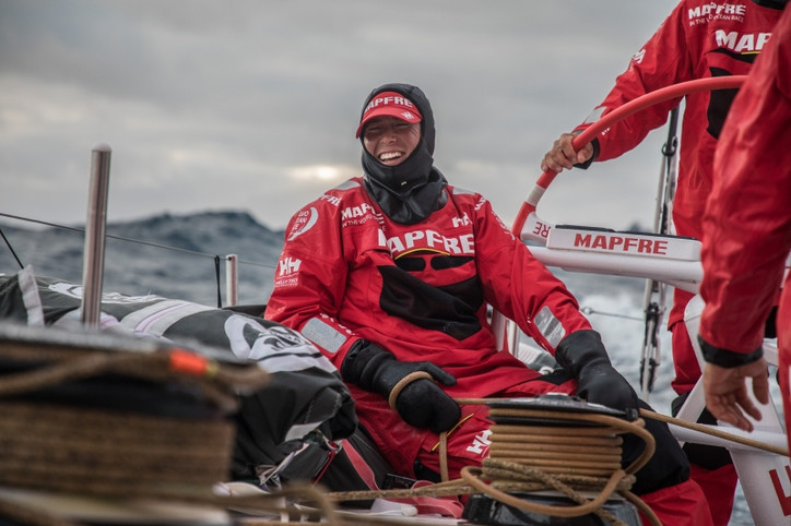 VOR: MAPFRE pushing to reach Melbourne by Christmas Eve, and win Leg 3