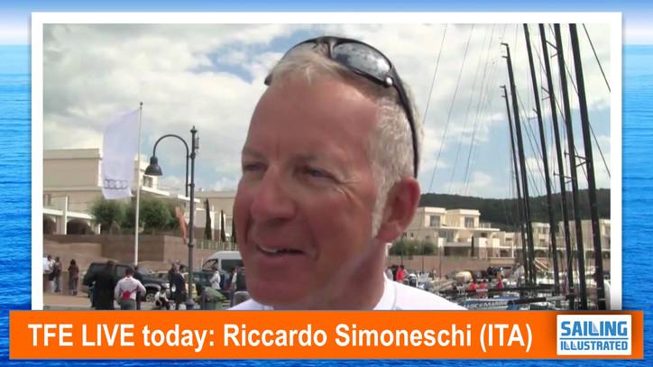 TFE LIVE: Riccardo Simoneschi (ITA) live via Skype from Genoa, on Olympic and professional sailing p