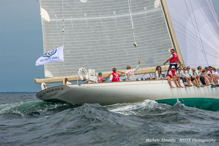 Candy Store Cup: Gorgeous Michele Almeida superyacht photos from yesterday