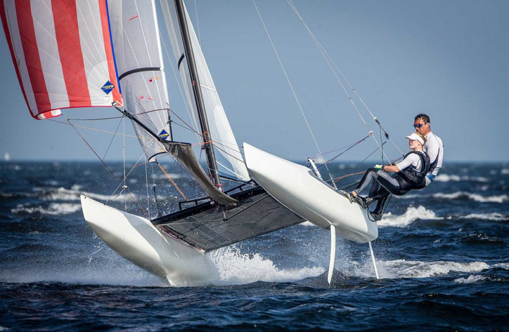 Olympics: Bora Gulari loses parts of three fingers in Nacra 17 capsize; accident comes amid foiling
