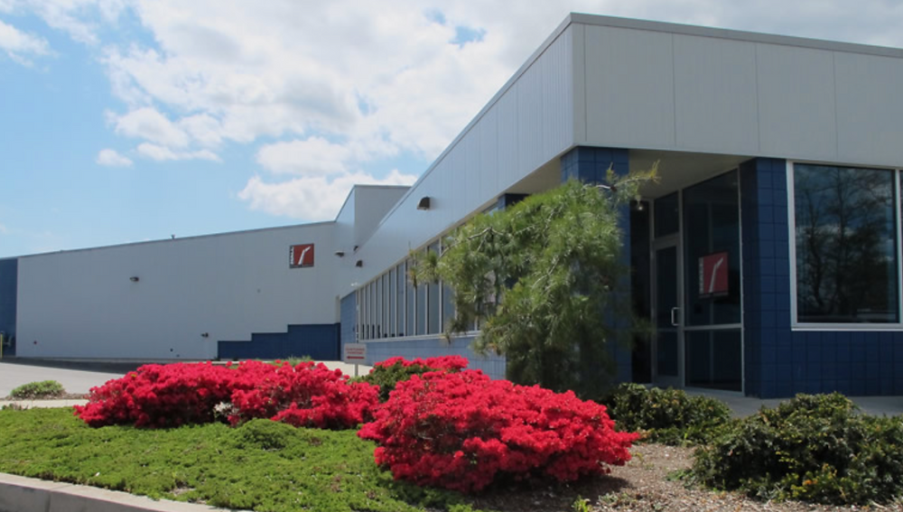 Hall Spars facility in Rhode Island. The company also has had plants in the Netherlands and New Zealand.