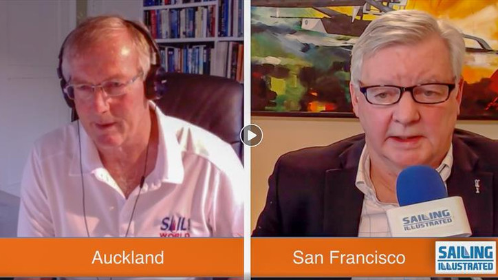 TFE LIVE: Richard Gladwell (NZL) joins us live from Auckland; with new AC75 launches Wednesday (ITA)