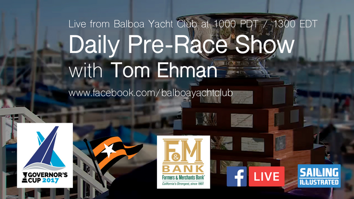 GovCup: Join us for the live Pre-Race Show, today through Saturday at 1000 PDT / 1300 EDT
