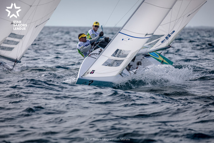 SSL: Live racing on Day 2 from the Nassau Yacht Club in the Bahamas; no racing yesterday due to ligh