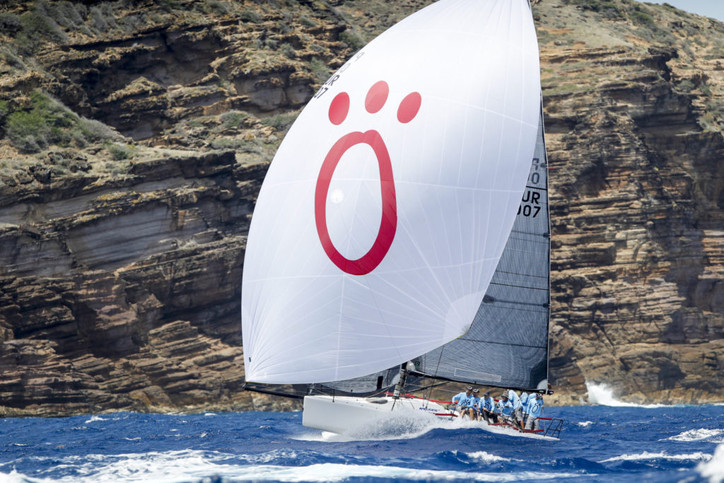 Antigua Sailing Week: Sergio Sagrados on LAZY DOG takes the Lord Nelson Trophy