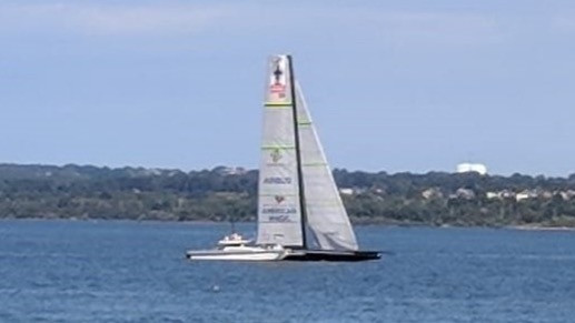 AC36: Sails up on AC75s in Auckland and Newport