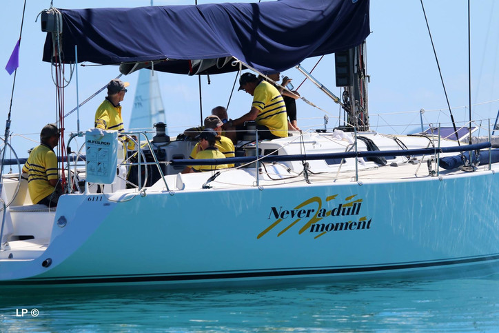 Photo of the Day: NEVER A DULL MOMENT at Airlie Beach Race Week?