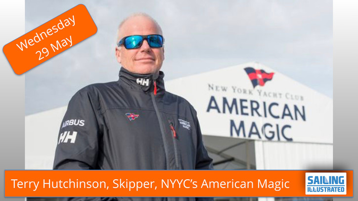 AC36: Watch Terry Hutchinson (USA), Skipper and Executive Director of NYYC American Magic, live toda