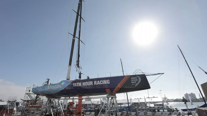 VOR: Vestas replaces mast ahead of next leg in Volvo Ocean Race