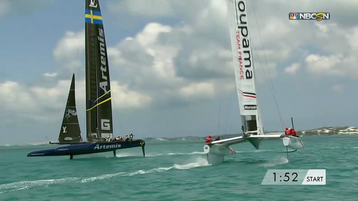 AC35: Day 2, Race 7 (of Round Robin 1)