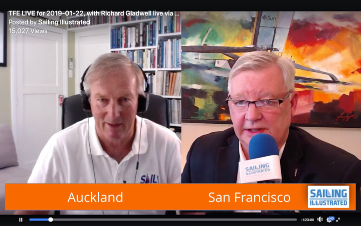 TFE LIVE for Friday: Richard Gladwell via Skype from Auckland with the latest on AC36 (and there&#39