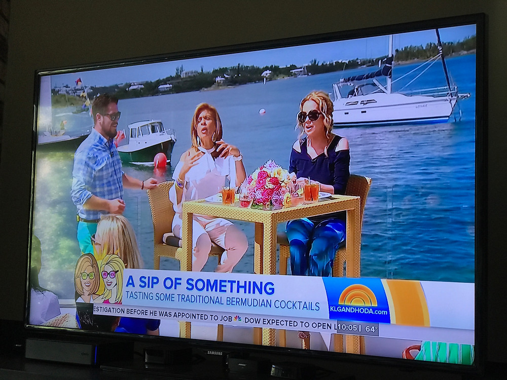 NBC's Today show as seen on TV at the SI offices, 1110 Thursday PDT.