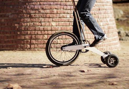 Halfbike: figura mitologica tra bicicletta e monopattino