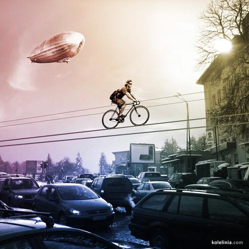 Kolelinia: pedalare tra le nuvole..