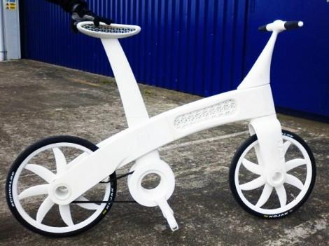 La stampa 3d fa l'occhiolino alle biciclette..