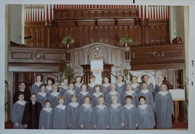 St. John's Choir 1968