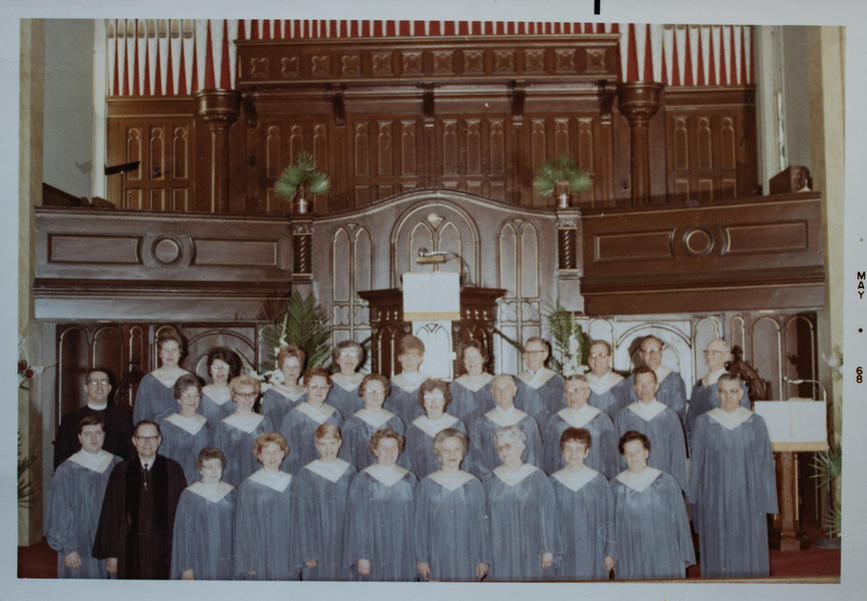 St. John's Choir 1968