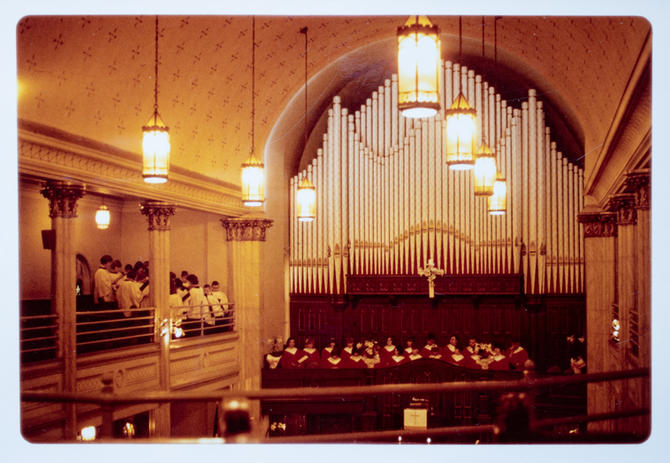 Easter Service 1966