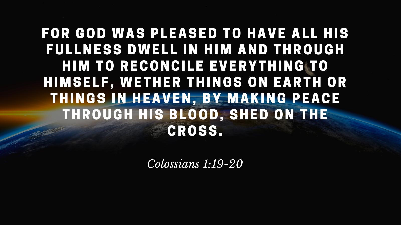 Colossians 119-20
