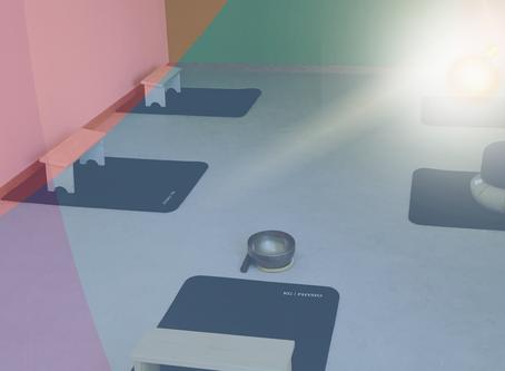 Neuer Meditationsraum.