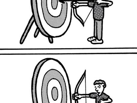 Bogenschiessen: Cartoons