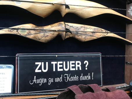 Besuch der 1. Bogenmesse Schweiz