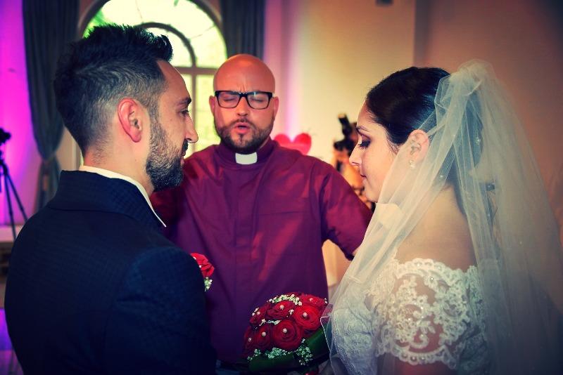 Segnung des Brautpaars 2016