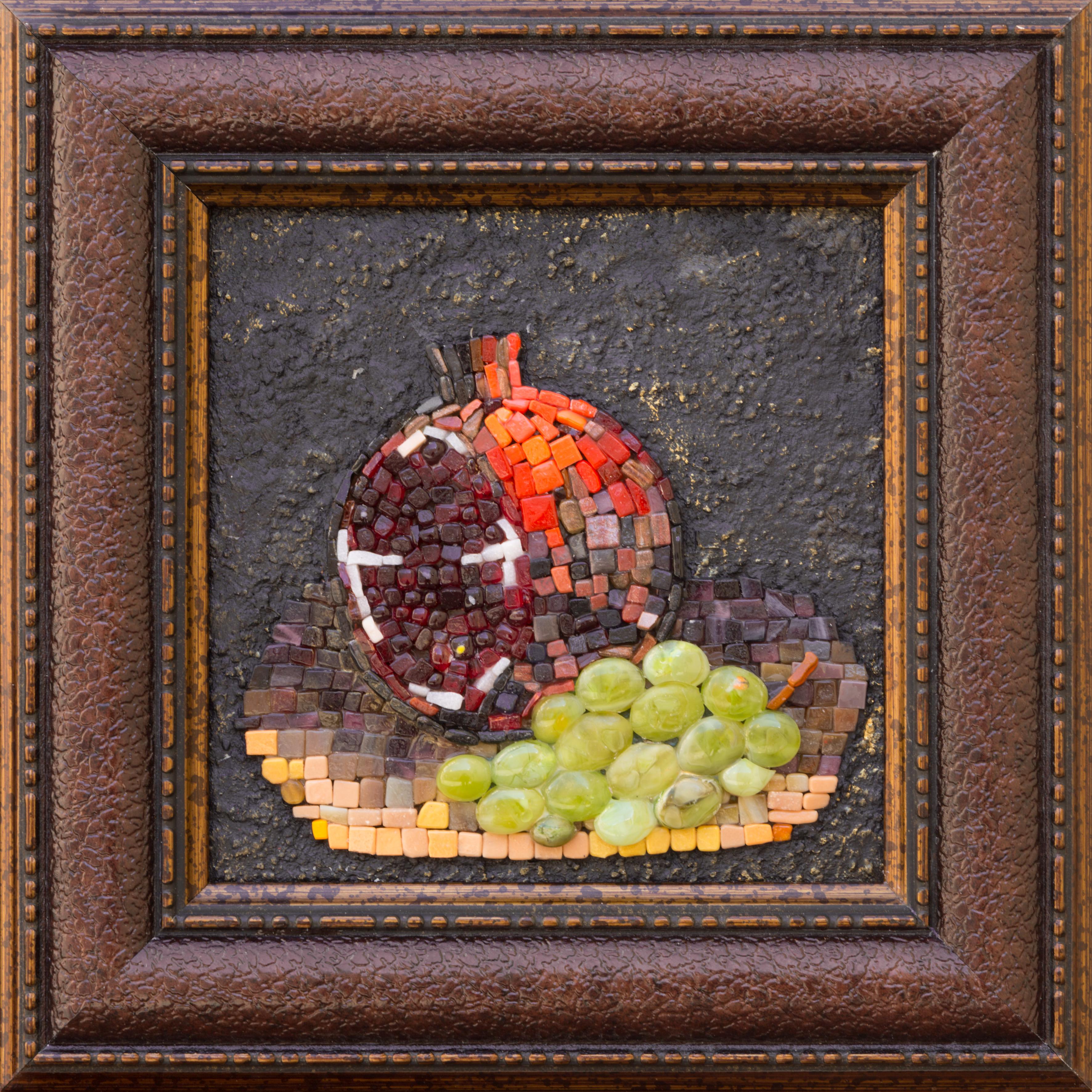 Гранат и виноград III