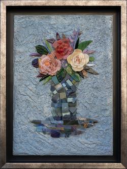 Натюрморт с букетом роз
