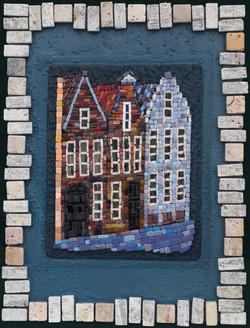 Три дома на набережной г.Брюгге