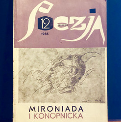 Poezja: Mironiada (dedicated to Miron Białoszewski)