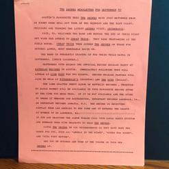 The Skunks Newsletter 1982
