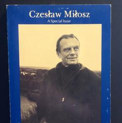 Czesław Miłosz, Ironwood 18 Special Issue